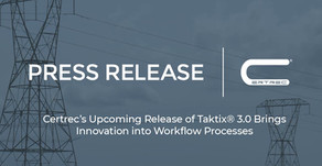 Certrec's Upcoming Release of Taktix® 3.0 Brings Innovation into Workflow Processes