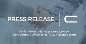 Senior Project Manager Laura Levisay Joins Certrec's Office of NERC Compliance Team