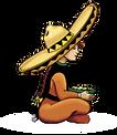 Lulus Taco Shop Logo
