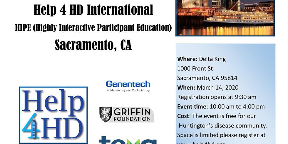(Postponed) Help 4 HD HIPE DAY, Sacramento, CA Postponed Due to COVID-19