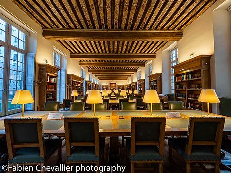 photographie de la bibliothèque historique de la ville de Paris