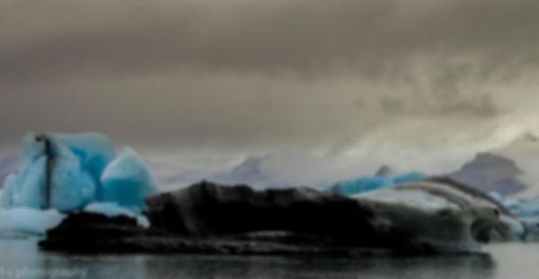 photo d glacier et de volcan en islande