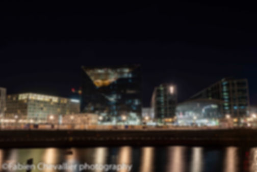 photo d'art de Berlin la nuit