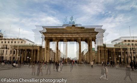 photo de la porte de brandebourgà berlin