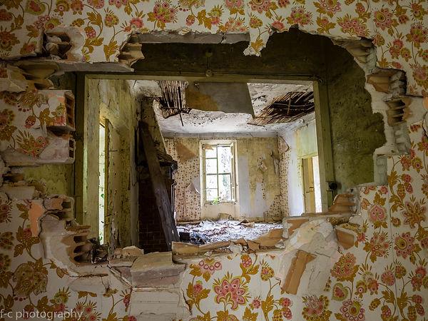 photo urbex d'une maison abandonnée