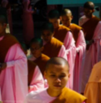 asia portrait thailand monk