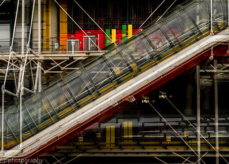 photographie de beaubourg à Paris