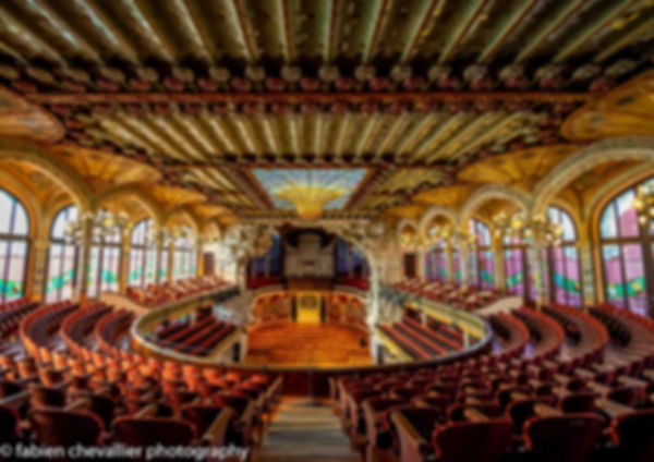 photo du  Palau de la musica de barcelone