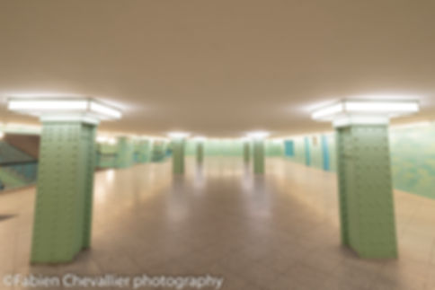 photo de metro  de berlin U-bahn Aleanderplatz I