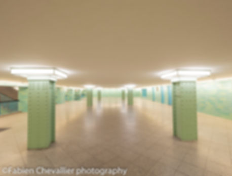 photo ouevre d'art du metro berlin U-bahn alexanderplatz II