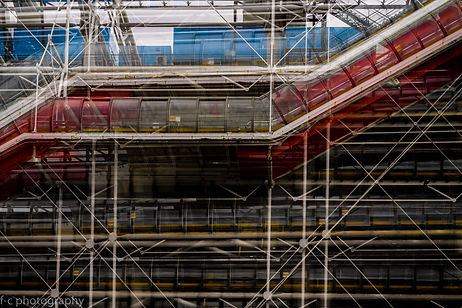 photographie d'architecture de beaubourg à Paris