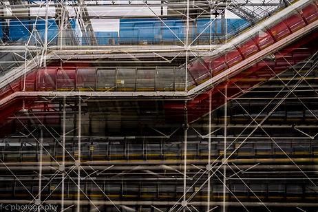 photographie d'architecture de beaubourg à Paris
