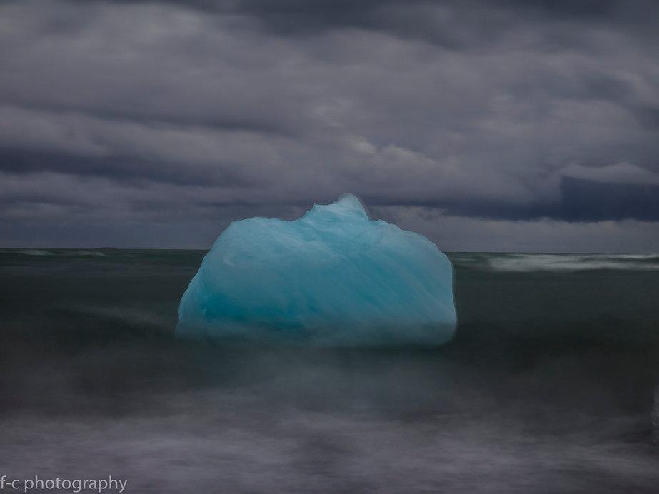 photo d'iceberg en islande