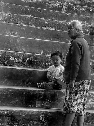 asia portrait Luang parabang laos