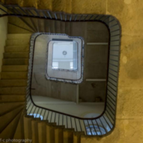 photo d'un escalier à londres
