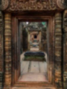 photographie de temple au cambodge à angkor