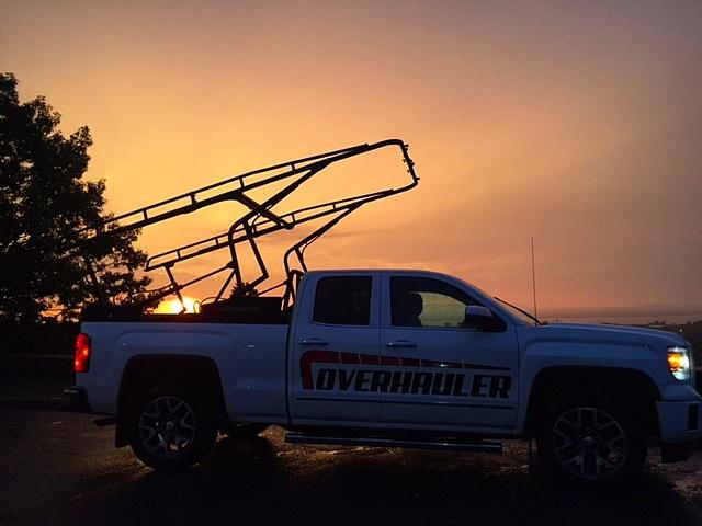 Tilt Truck Rack Sunrise