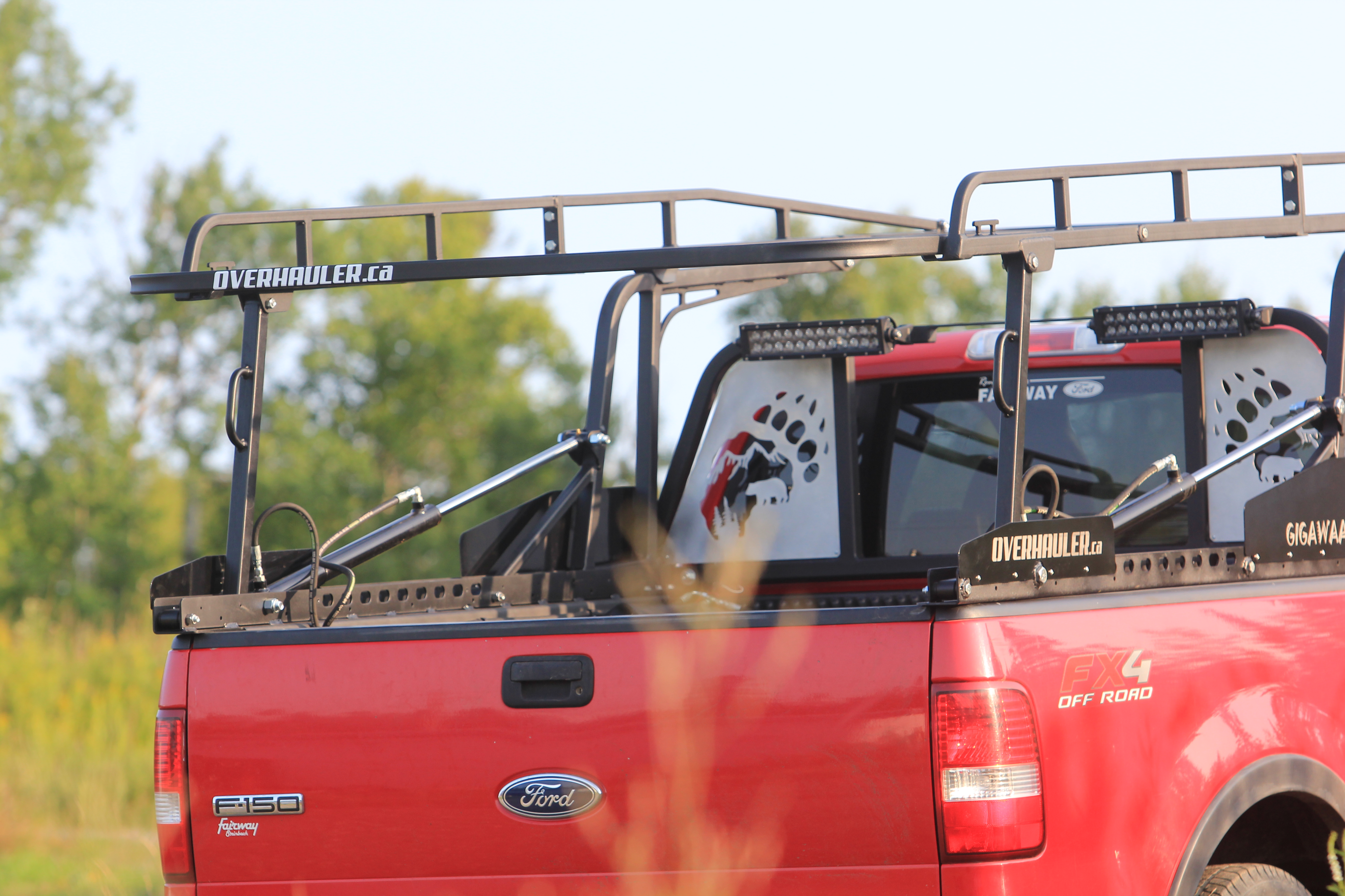 Ford F150 Roof Rack