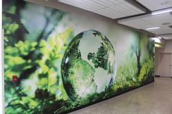 Corridor Feature Wall