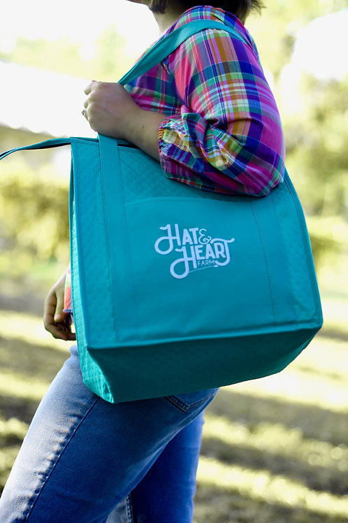 Hat & Heart Tote Bag