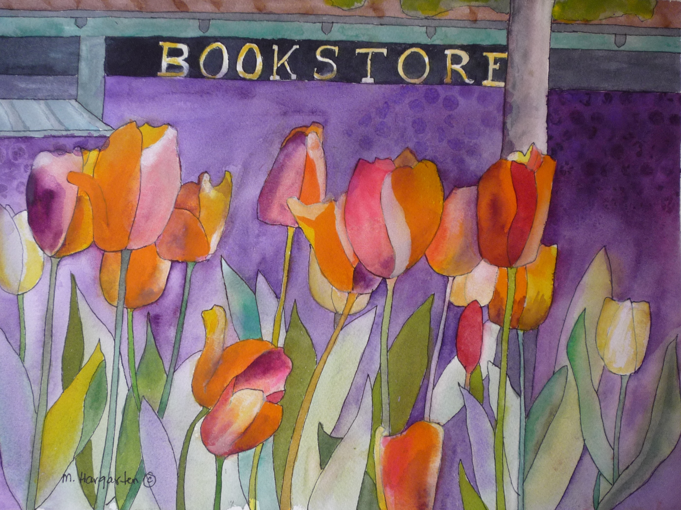 Bookstore Tulips