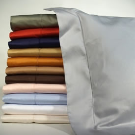 12 colors cotton sateen luxury Italian linens