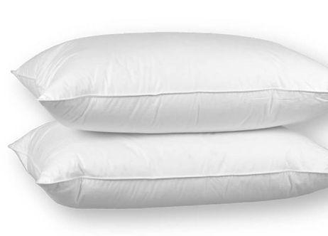 Eiderdown pillows