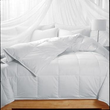 sew thru box stitch Eiderdown comforter