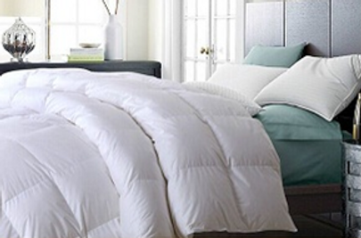 deluxe white goose down comforter