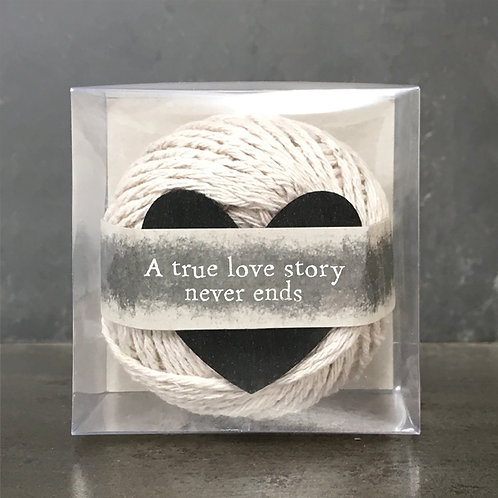 String-True love story never ends