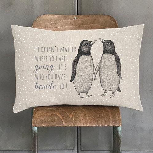 Long cushion-Penguins