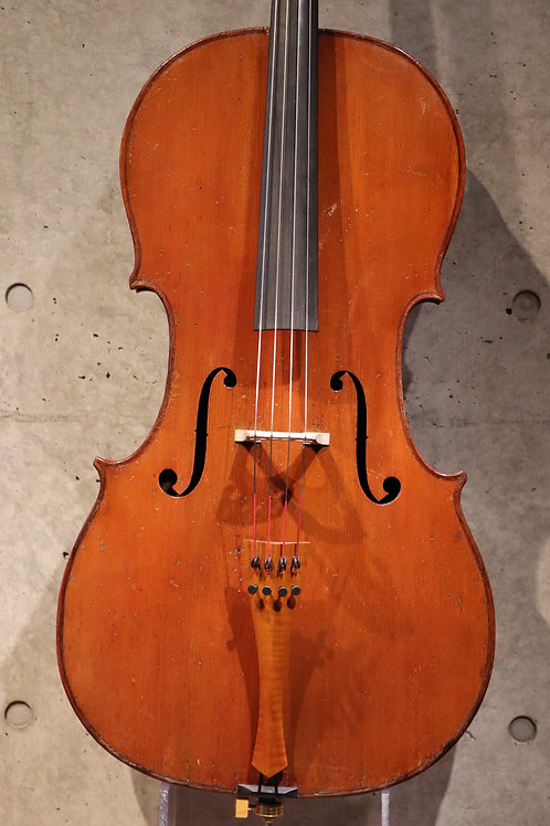 4/4 Cello French vers 1850