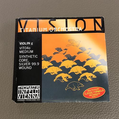 Violin VISION Titanium Orchestra Medium G
