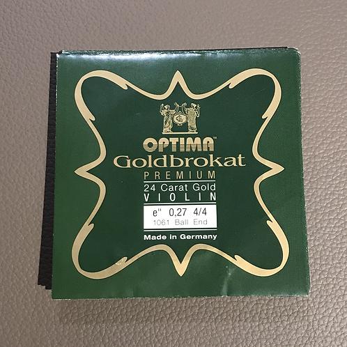 Goldbrokat Premium 24 Carat Gold E 0.27 Ball End