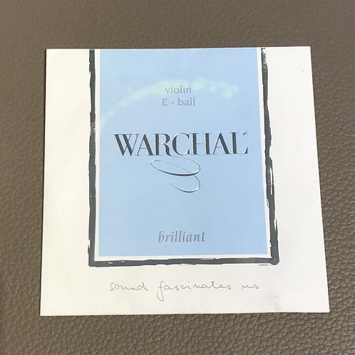 Violin Warchal Brilliant E ball End