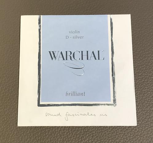 Violin Warchal Brilliant D Silver