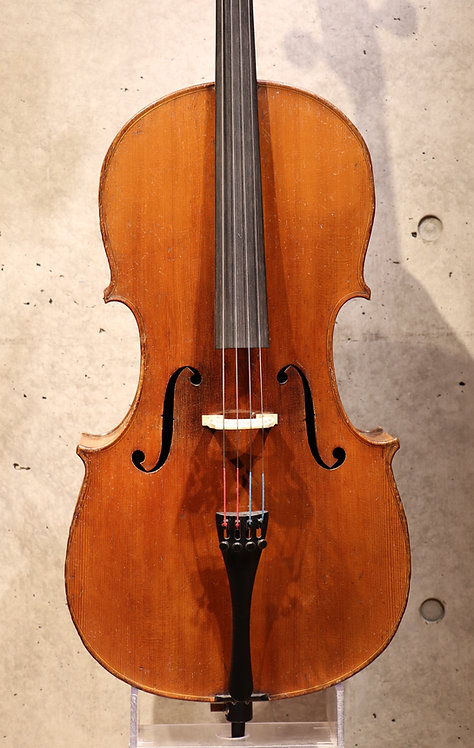 1/2 Cello French vers 1880-1900