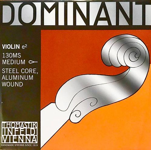 Dominant E Steel core Almium wound