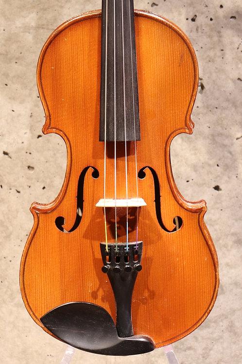 """""""Compagnon II"""" Mirecourt vers 1900, 1/2 violin"""