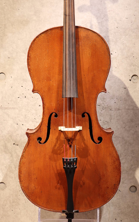 3/4 Cello French vers 1880