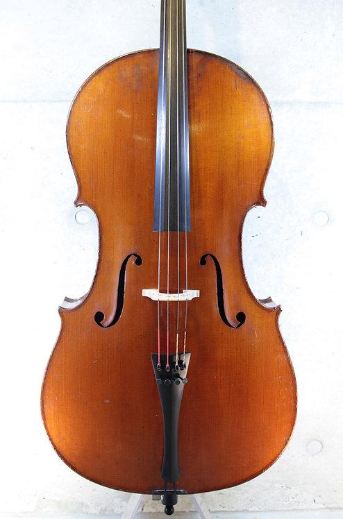 4/4 Cello Marc Laberte Mirecourt French 1880-1900