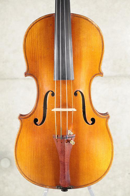 4/4 J.T.L. labeled : Stradivarius 1721 Mirecourt, France vers 1920