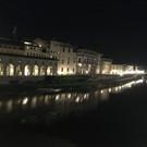 View from apartment on Ponte Vecchio bridge