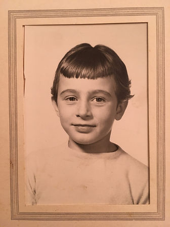 My mom Anna age 9