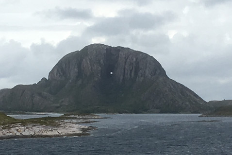 Torghatten, the mountain with the hole