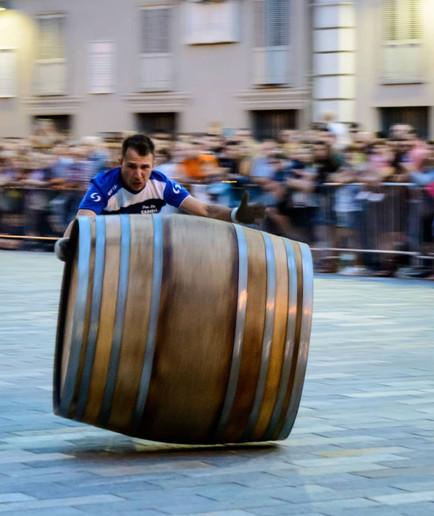 Barrels of fun in Nizza Monferrato
