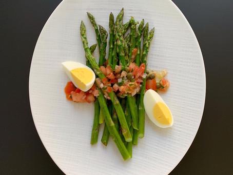 The Best Damn Asparagus of Your Life Recipe-Catalan Asparagus Vinaigrette