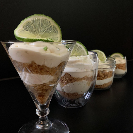 Cheesecake Key Lime Parfait-Hands down the easiest road to delicious!