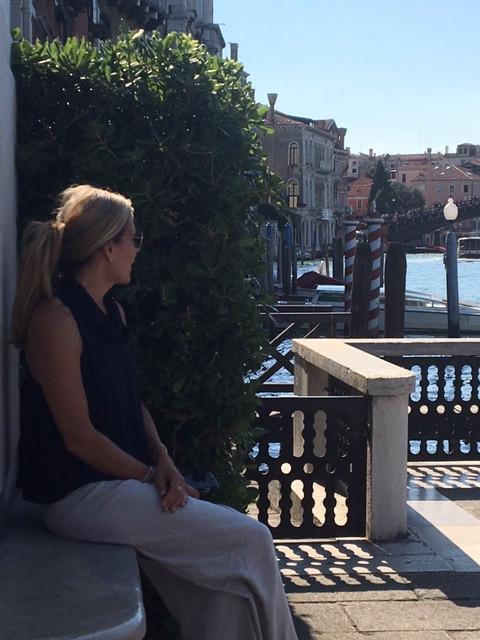 Peggy Guggenheim Terrace Venice Italy