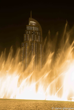 Emerging from the flames, Dubai, 28Apr